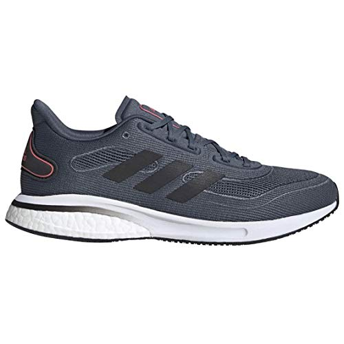 adidas Supernova Running Shoe, legacy Blue/Black/Pink, 12.5