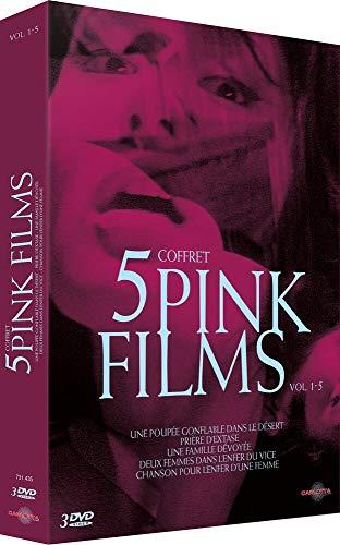 Coffret 5 Pink Films-Vol. 1-5 : Une poupée Gonflable dans Le désert + Deux Vice + Chanson pour l'enfer d'une Femme + Prière d'extase + Une Famille dévoyée