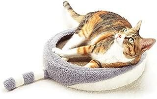 【 猫しっぽ爪とぎベッド 】 ANSCHLUSSオリジナル 猫爪とぎ 猫用つめとぎ ネコ ねこ バリバリ ガリガリ【メーカー正規品】