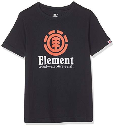 Element Vertical SS Boy Camiseta de Manga Corta, Niños, Azul (Eclipse Navy), 10