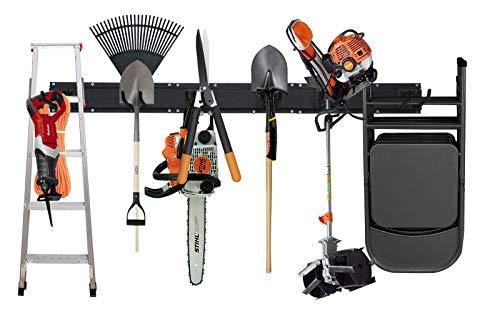 NETWAL Garden Tool Storage RacksGarage Organizer Wall Mount 6 PackAdjustable Heavy Duty Metal HangerMax 265 lbs