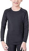 Lanbaosi Boys&Girls Long Sleeve Compression Soccer Practice T-Shirt