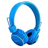 Kids Bluetooth Headphones Foldable Volume Limiting Wireless/Wired Stereo On Ear HD Headset