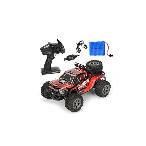 Poooc Carga de coche teledirigido,  1/18 orugas 4WD Off- Road de vehículos de alta velocidad RC Monster Truck Racing de 2, 4 GHz eléctrico Buggy Manía del juguete for adultos y de los regalos de Navidad