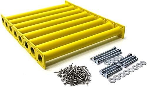 """Big Sale Best Cheap Deals Eastern Jungle Gym 15-1/8"""" Steel Monkey Bar Ladder Rungs - Yellow (Set of 8)"""