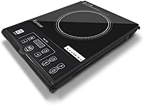 120V 60Hz Portable Induction Cooktop, 1800W Electric Burner Stove, Timer, Kids Safety Lock, 12 Temperature levels, Sensor Touch Control Induction Cooker for Kitchen, Home, School, RV