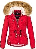 Navahoo warme Damen Designer Winter Jacke...