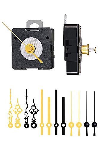 Quarz-Uhrwerk komplett Set WF für Einsteiger von Selva – Ideal als Ersatz-Uhrwerk-Set für Ihre Wanduhr – Made in Germany – Alles in einem Set (ZWL 13,5)