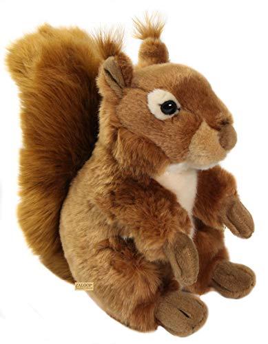Zaloop Eichhörnchen Plüschtier Stofftier Plüsch Kuscheltier