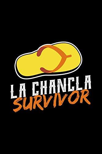 La Chancla Survivor: Funny Spanish Latin Lined Notebook Journal Diary 6x9