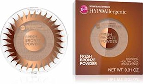 Bell Polvo bronceador hipoalergénico (bronceador o polvo de sol)