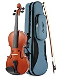 Eastar EVA-1 分数バイオリン 適応身長125cm以下 高品質スプルース&メイプル 初心者入門セット チューナー&肩当て付 (1/4)
