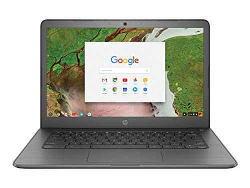 "HP Chromebook 14"" Touchscreen Laptop Computer for Student_ Intel Celeron N3350 up to 2.4GHz_ 4GB DDR4 RAM_ 32GB eMMC_ AC WiFi_ Type-C_ Webcam_ Chrome OS_ BROAGE 32GB Flash Stylus_ Online Class Ready"