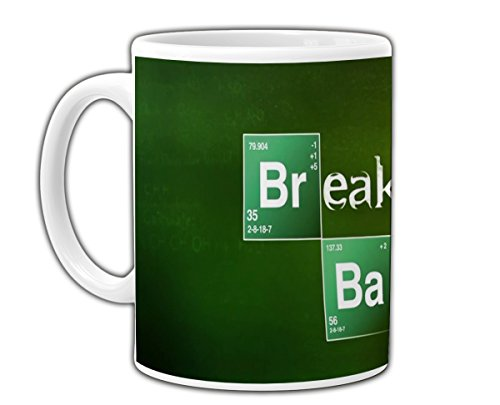 PLSH Tazza Mug Breaking Bad - Walter Hartwell White - Werner Heisenberg - Blue Meth - con Scatola - Idea Regalo per Fan - Not Original Gadget