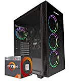 Pc gaming Ryzen 5 3400G 4.20 Ghz Turbo,SSD M.2 500 GB,Ram 16Gb 3200Mhz ,450w 80 Plus ,Wi Fi 300Mbps , Computer da Gaming,Windows 10 Professional