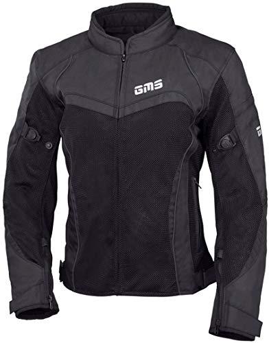 GMS Tara Mesh - Chaqueta textil para mujer, color negro 6XL