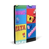 BTS ブックカバー 文庫本 高級PUレザー 文庫 おしゃれ カバー サイズ調整可 文庫判 資料 収納入れ オフィス用品 読書 雑貨 プレゼント耐久性に 22x32cm
