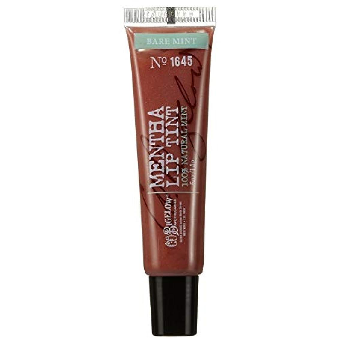 血色の良い削減オーナー[C.O. Bigelow] C.O.ビゲロー裸ミントハッカシマーリップティント - C.O. Bigelow Bare Mint Mentha Shimmer Lip Tint [並行輸入品]