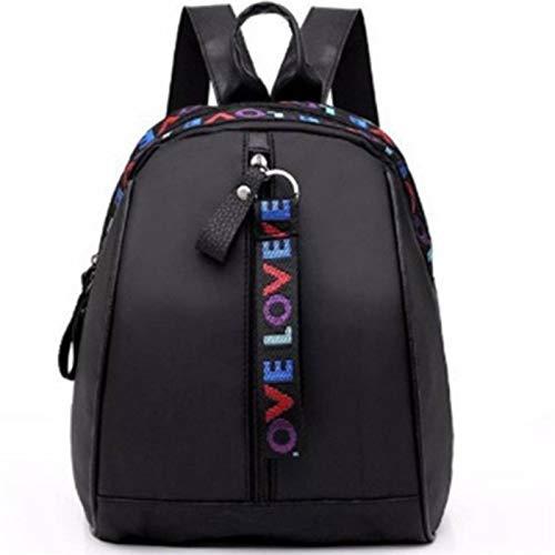 N-B Women Mini Backpack Oxford Shoulder Bag For Teenage Girls Multi- Function Small Bagpack Female Phone Pouch Korean Style