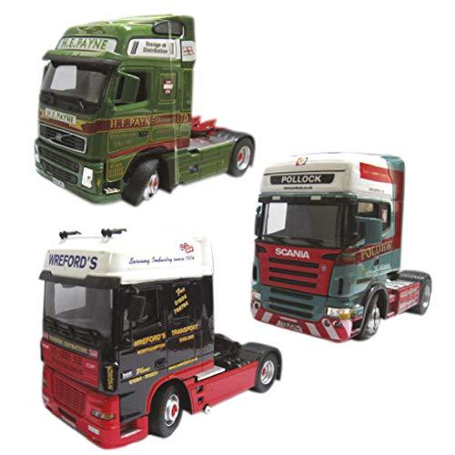 FASE Cabeza DE CAMION Escala 1-50 Modelos Surtidos (Volvo-Scania)