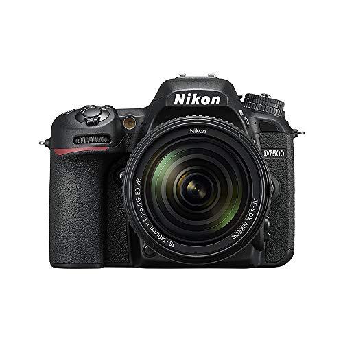 Nikon D7500 20.9MP DSLR Camera with AF-S DX NIKKOR...