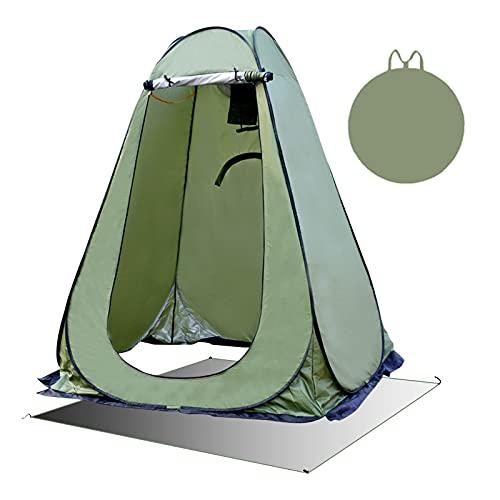 FOGARI Tenda Pop-up per la Privacy, Tenda da Privato Istantanea Portatile per Docche,Tenda da Toilette per Campeggio Spiaggia Bagno Spogliatoio