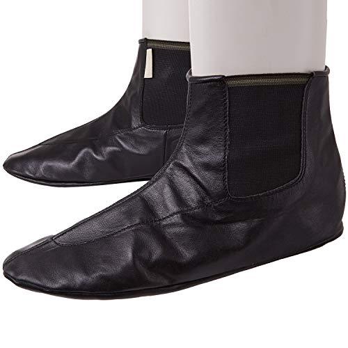 Ledersocken aus echtem Leder - Einfaches Anziehen wie eine Socke - Masd - Mesd - Mest - Mast - Khuff - Khuffain - Gebetssocken - Whudu - Wudu - Corap - Mash - Mesh (41)