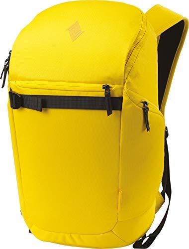 Nitro Nikuro Daypack Alltagsrucksack Schulrucksack Sportrucksack Wasserabweisende Reissverschlüsse Laptopfach, Cyber Yellow, 26 L