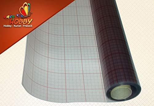 ASLAN Hart-PVC-Folie, transparent, selbstklebend, 0,20 mm stark (120 cm x 1 Meter)