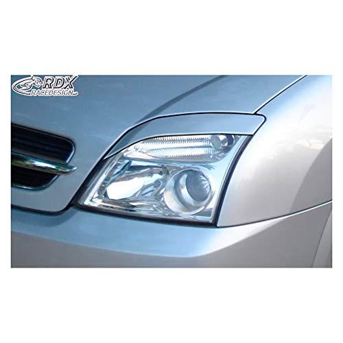 Koplampschermen Opel Vectra C 2002-2008 & Signum excl. Facelift (ABS).