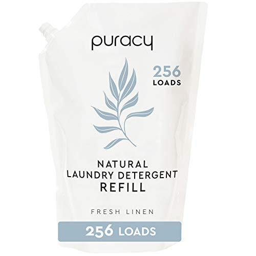 Our #3 Pick is the Puracy Natural Fresh Linen Laundry Detergent