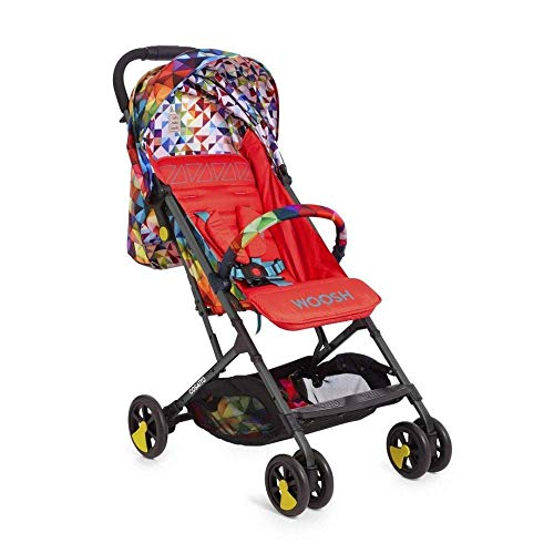 Cosatto Woosh 2 Pushchair – Lightweight Stroller From Birth to 25kg - One Hand Easy Fold, Compact (Spectroluxe)