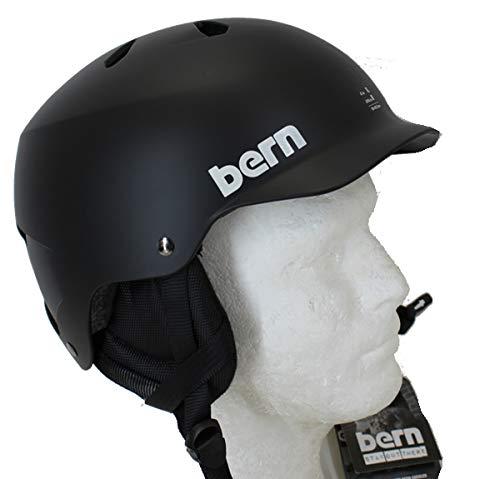 BERN(バーン) bern バーン ヘルメット ウインター仕様 TEAM WATTS チームワッツ マットブラック  耳当...