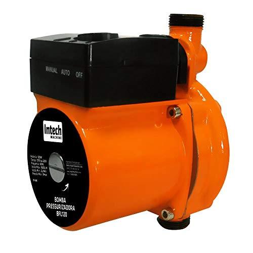 Bomba D'Água Pressurizadora 120W 1600L/H Bfl120 Intech Machine (220V)