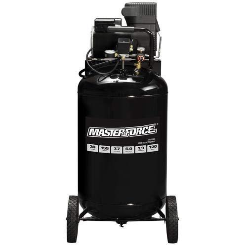 Masterforce 30-Gallon 155 PSI Portable Electric Vertical Air Compressor