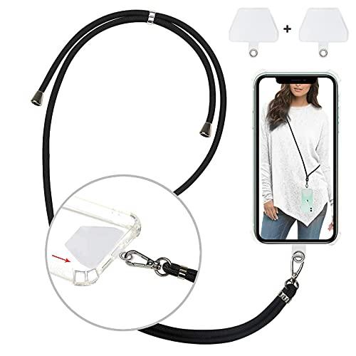 Cordón para Móvil Universal   Colgante para móvil   Cuerda ajustable para colgar el móvil   Correa de Fácil instalación   Con 2 TPU invisible