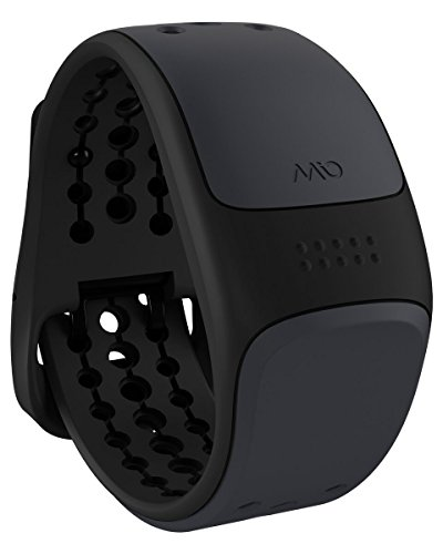 MIO Link Heart Rate Monitor Wristband, Small/Medium, Slate