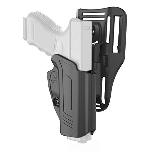 Orpaz P10 Holster, Compatible with CZ P10c Holsters, Level II OWB Low-Ride Holster