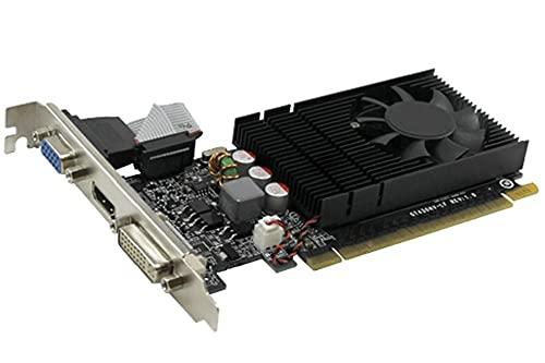 Scheda Video Nvidia GT 730 da 4 GB GDDR3 - 128 bit - Single Fan - Versione Bulk senza scatola - Progettazione CAD 2D