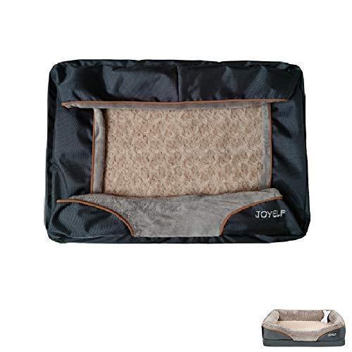 JOYELF Ersatzbezug für Hundebett, Memory-Schaum, Größe XL, 101,6 x 76,2 cm