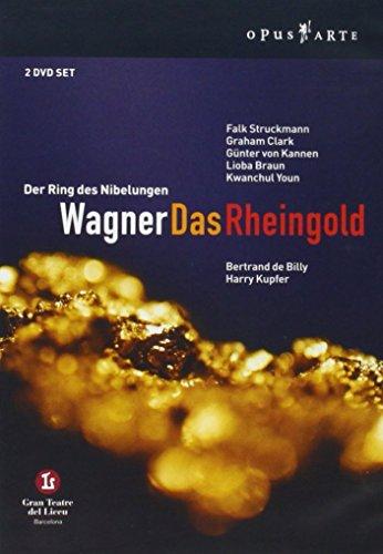 Wagner - Das Rheingold / Struckmann, Clark, von Kannen, Braun, Youn, de Billy, Barcelona Opera