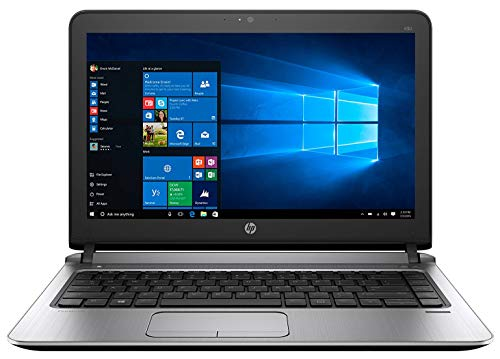 (Renewed) HP ProBook 430 G3 13.3 inch Laptop (Core I5 6th Gen/8 GB RAM/256 GB SSD/Windows 10 Pro/MS Office/HD Display/Integrated Graphics)