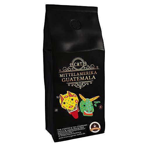 Kaffeespezialität Aus Mittelamerika - Guatemala, Dem Land Der Maya (Ganze Bohne,1000 Gramm) - Länderkaffee - Spitzenkaffee - Säurearm - Schonend Und Frisch Geröstet