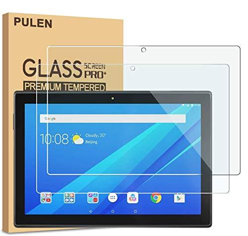 PULEN [2 Pack] Lenovo TAB E10 Panzerglas Schutzfolie, 9H Hartglas Glas Bildschirm schutzfolie [Anti-Kratzen] [Bubble-frei][Fingerabdruck-frei] HD Klar Blasenfreie Folie für for Lenovo TAB E10(TB-X104F)