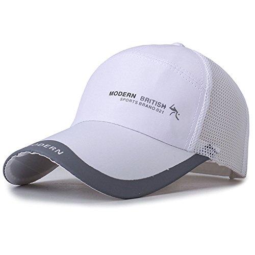 Sombrero versión Coreana Masculina de la Gorra de béisbol de Malla de Marea Gorra de Pesca al Aire Libre Gorra de protección Solar Transpirable para Mujer Gorra de Red para el Sol
