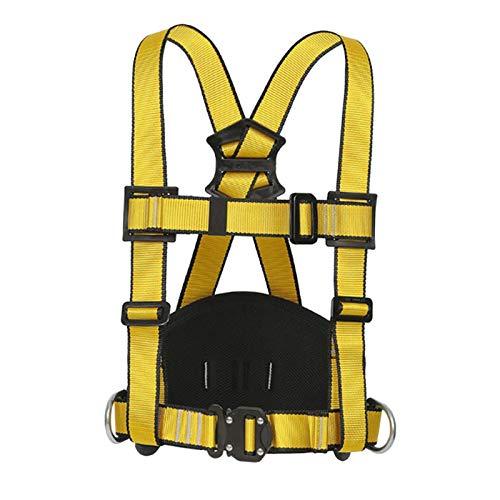 N/A/a Arnés de Escalada Arnés de Seguridad Cinturón de Pecho Seguro Equipo de Protección de Medio Cuerpo