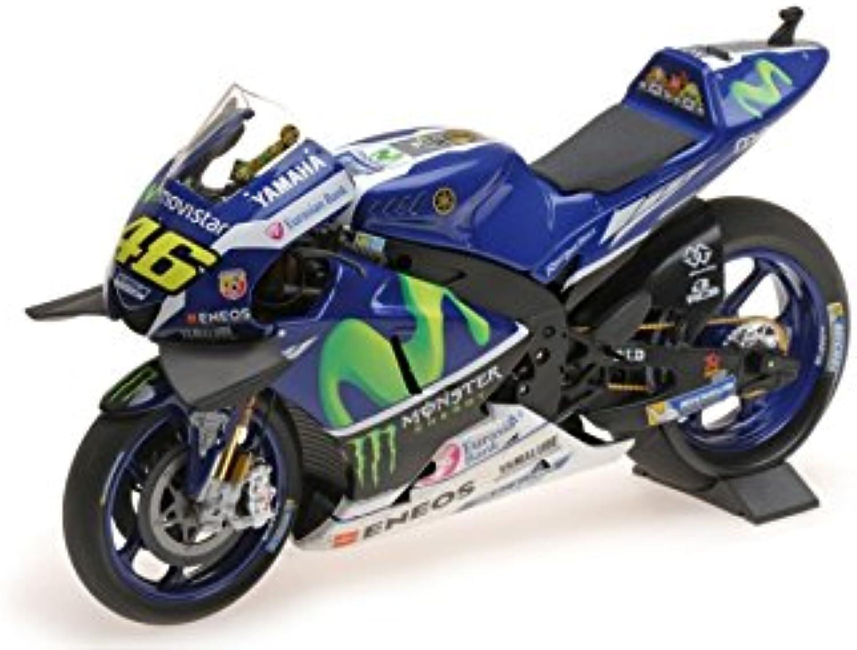 Minichamps 310.294.136,8cm 2016Yamaha ytz-m1–Moviestar Yamaha MotoGP–Valentino Rossi Model Kit, Mastab  1  12