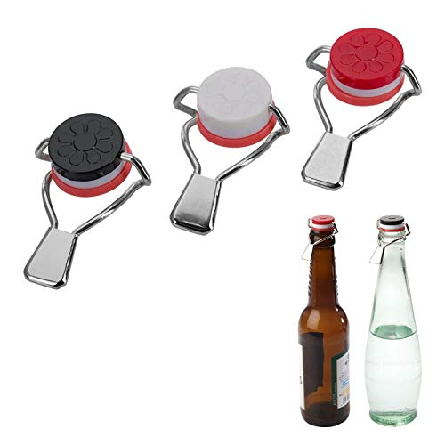 Westmark 44402280 3 Tappi di Bottiglia con Leva