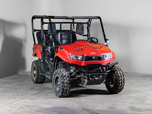 Compatible with Kymco 500/700 Full UTV Windshield 3/16' - Models 2014-18 - Made in the USA!.