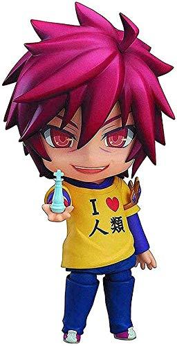 Modelo Anime Toy Aproximadamente 4 Pulgadas Nendoroid no Game no Life: Sora Nendoroid Action Figure-1227